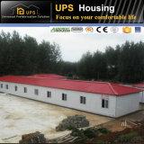 Casa del panel ligera de emparedado del aislante termal EPS del cemento de la fibra