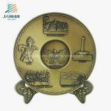 جيّدة خداع زنك سبيكة صب [3د] [متّ] نوع ذهب معدن صينيّة لأنّ تذكار