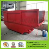7m Red Boat Shape Skip Bins
