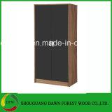 مزدوجة لون خزانة ثوب تصميم أثاث لازم غرفة نوم
