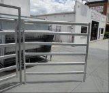 Панель стойла лошади рельса 1800X2100mm Австралии овальная/портативная панель скотин