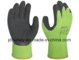 Одобренная Ce перчатка работы латекса высокой видимости (LY2026)