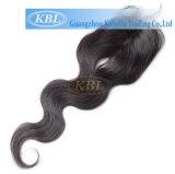 Kabielu 3part 방법 머리 피스, 자유로운 부분 실크 기본적인 마감 브라질 머리 레이스 마감