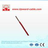 O PVC Sheathed fio elétrico/elétrico de cobre isolado