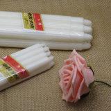 450g de 75g Kraft bolsas de polipropileno blanco fábrica de velas estriada.