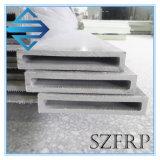 多彩な補強のプラスチックガラス繊維FRPの長方形の管