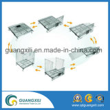 Foldable 접을 수 있는 철강선 메시 저장 감금소 깔판 콘테이너