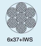 Corde 6X37+Sc de fil d'acier d'Ungalvanized