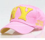 Fabrik Soem-Erzeugnis-billig fördernde kundenspezifische Zeichen gestickte Baumwollbaseballmütze