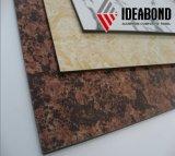 Ideabond 옥외를 위한 돌 짜임새 ACP 알루미늄 합성 위원회