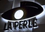 Rétroéclairé par LED en acier inoxydable signer