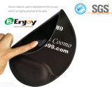 Almofada de rato ergonómica do gel do silicone do anti enxerto com sustentação de pulso