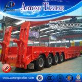 30tons 50tons 60tons 80tons低いローダーのトレーラー100トンの半掘削機の交通機関の、Lowbed Lowboyのトレーラー、販売のための低いベッドのトラックのトレーラー
