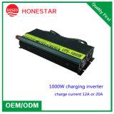 Inverseur d'UPS de prix usine 1000W 12V/24V/48VDC à 110V/220V/230VAC 50Hz/60Hz