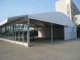 Barraca individual Tente de construção de muros contínuo de Arcum para o centro de serviço