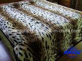 印刷のRaschelのミンクのアクリル毛布(MQ-LPB-002)