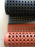 Estera de goma del suelo de la cocina anti de la fatiga, esteras de goma antirresbaladizas del taller