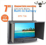 Построено в Battery, 32 CH AV Receiver 7 Inch Fpv Monitor