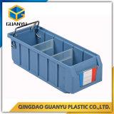 Rectángulo plástico vendedor caliente del estante del almacenaje con los divisores plásticos (PK4214)