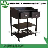 Cuna y el cambio de madera Mesa muebles de la habitación del bebé