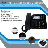 4-Line WiFi IP Phone/SIP IP-телефона542n