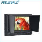 "Feelworld 5 "" Canon Nikon 5D D5100 DSLR를 위한 일요일 Shade를 가진 1080p Portable HDMI Camera Field Monitor"