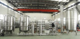 ROシステムが付いている水生産ライン浄化プラントを完了しなさい