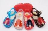 Bowknotの装飾のゼリーの靴が付いているPVC靴(
