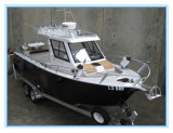 Vissersboot van het Aluminium van het Ontwerp van Nz 22FT 6.85m de alle-Gelaste