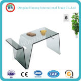 Huneng Brand Clear Tempered Glass Table Glass Doors