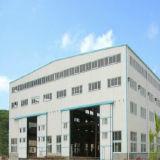 Gruppo di lavoro chiaro verniciato prefabbricato della struttura d'acciaio