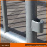 Valla Metálica de seguridad de la barrera de control de multitudes peatonal