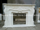 Marble poco costoso Fireplace in Stock