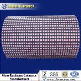 Mattonelle di mosaico quadrate di ceramica resistenti all'uso per il rivestimento isolante della puleggia con 5 urti