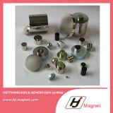 Super starker kundenspezifischer Block permanenter NdFeB der Notwendigkeits-N52 SmCo/Neodym-Magnet für Motoren