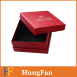 Rojo de lujo ver joyas embalaje Caja de regalo / caja de papel