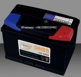 Япония 12V Авто погрузчик MF автомобильной аккумуляторной батареи N100, N120, N150