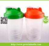 [600مل] بروتين رجّاجة فنجان مع غطاء جديدة