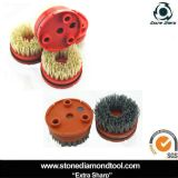 4 pollici 100mm Round Diamond Abrasive Brush per Klindex Machine
