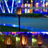 Lumière solaire de torche de Trueflame avec la flamme de clignotement