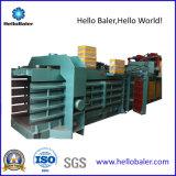 Hola máquina de embalaje horizontal del papel usado de la prensa con el nuevo transportador