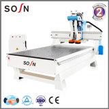 Hochleistungsholzbearbeitung-Maschinen-Stich u. Ausschnitt CNC-Fräser