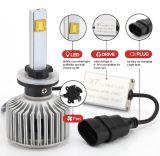 Farol Principal 9004 Lâmpadas LED CREE para Seat Ibiza Leon