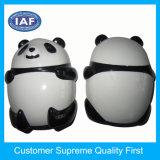 カスタム中国のパンダの形のプラスチック手動鉛筆削り