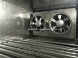 Surgélateur de tunnel de surgélateur de poissons de crevette