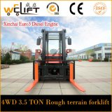 All Terrain Vehicle W35 Tipo Multifuncional All Terrain Forklift
