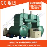 CZ-1800 Double-Chamber Máquina de Revestimento de Vácuo/Máquina de sementeira de vácuo/ máquina de revestimento Vertical