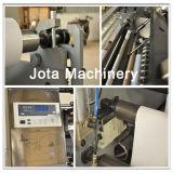 Alta velocidad de papel térmico de la máquina rebobinadora de corte longitudinal (JT-TR-900)