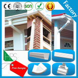 Material de construcción plástico de la bajada de aguas del dren del agua de lluvia de la instalación de tuberías del PVC