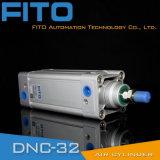 ISO 15552 표준 두 배 임시 압축 공기를 넣은 실린더